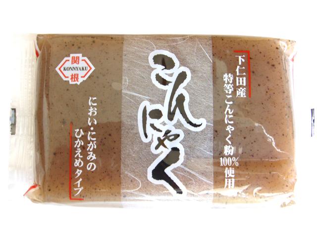 下仁田産特等こんにゃく粉100%使用 こんにゃく(黒)