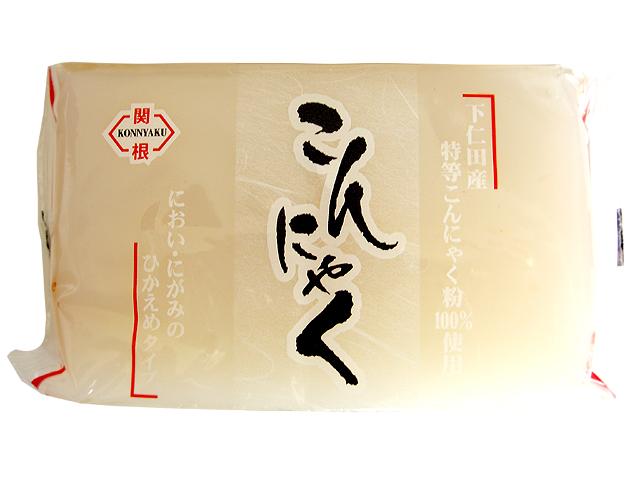 下仁田産特等こんにゃく粉100%使用 こんにゃく(白)