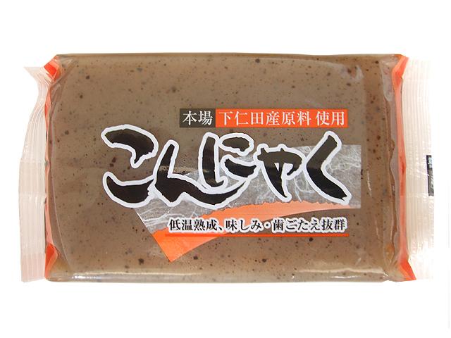 関根食品のこんにゃく(黒)